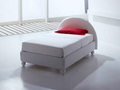 GUN il letto singolo contenitore… con un tocco di glamour che si ...