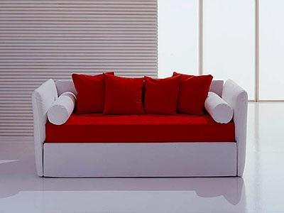 Biba by bolzan il divano letto salvaspazio con un delicato equilibrio di proporzioni letto - Divano letto singolo con contenitore ...